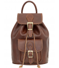 """Leather Backpack """"Matisse"""""""
