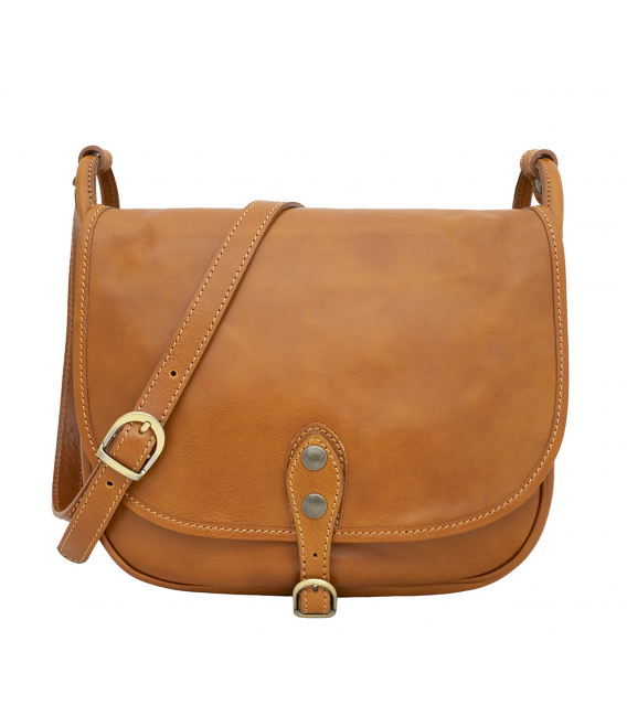 cognac bag leather