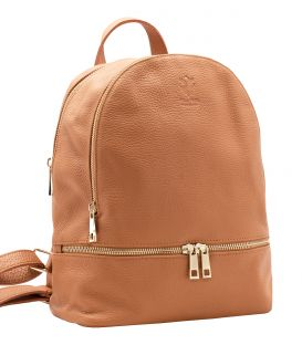 Leather backpack womens