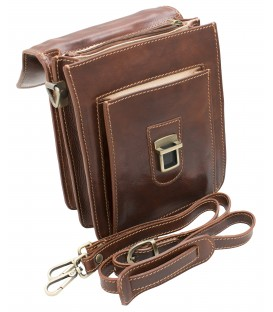 leather side bags for mens
