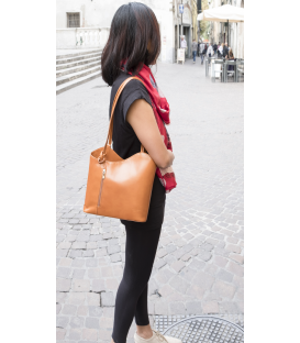 "Leather backpack - women bag ""Sally"""