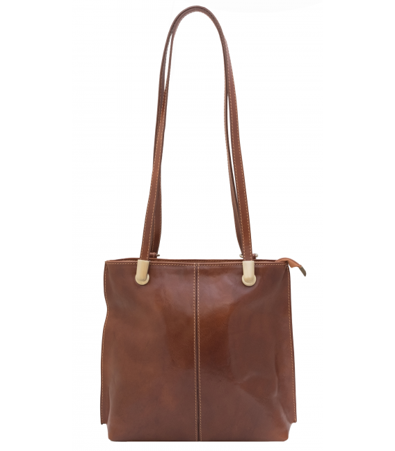 leather crossbody backpack
