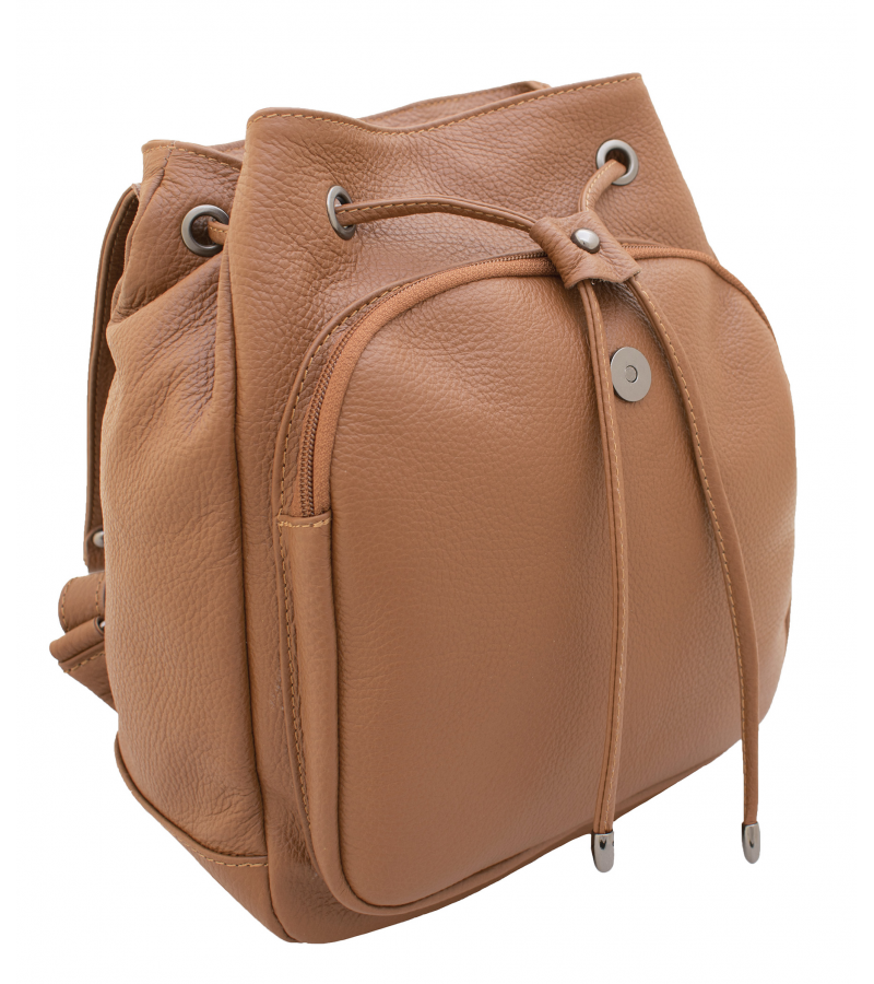 fe8f9a7f71c77 Leather backpack