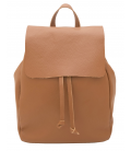 "Leather Backpack ""Stella"""