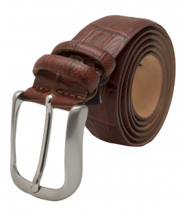 Leather Men's Belt 6011