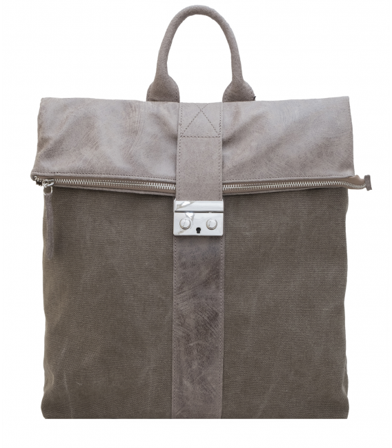 mens canvas leather backpack