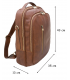 """Leather Backpack """"Edison"""""""