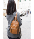 small leather backpack womens