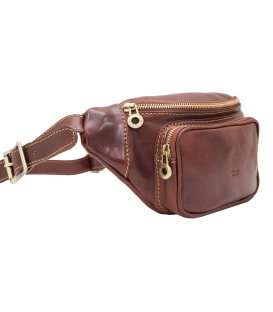 "Leather Waist Bag ""Mantova"""