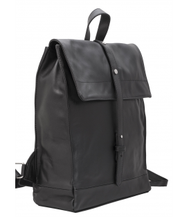 italian leather backpack mens
