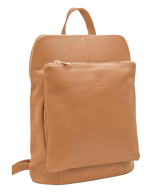 leather satchel backpack women's