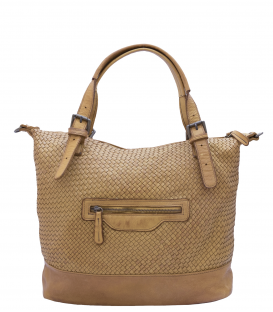 "Leather Woman Bag ""Fiorenza"""