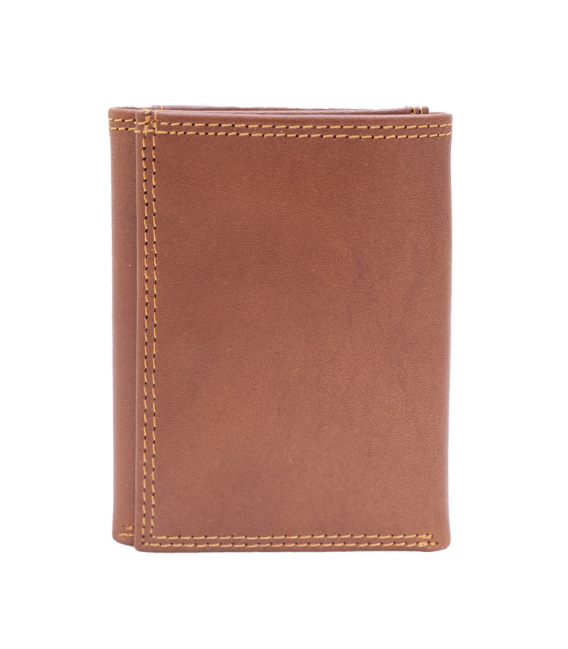 mens trifold leather wallet