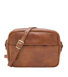 small tan leather cross body bag | small leather handbag