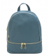 blue leather backpack | turquoise leather backpack