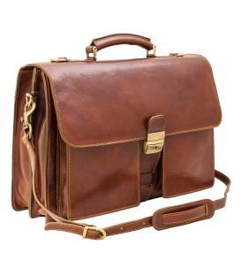 best briefcases for men | brown leather briefcase