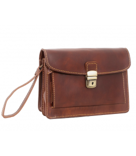 mens leather pouch