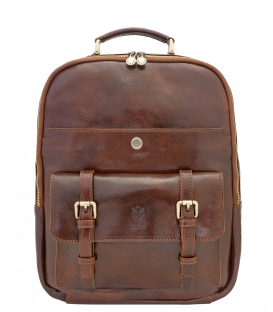 "Leather Backpack ""Colombo"""