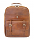tan leather rucksack | tan leather backpack mens