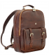 leather business backpack | quality leather backpack