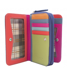 women's zip wallet