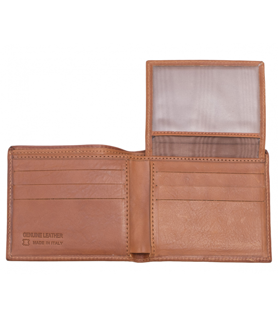 mens wallet with id window