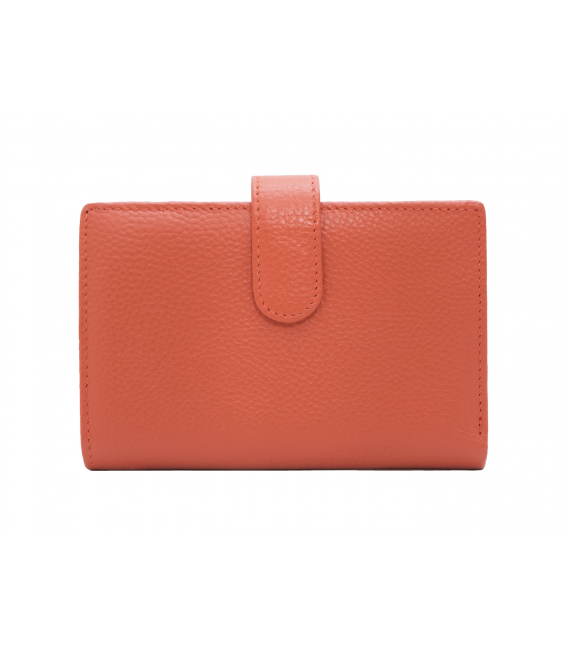 tan leather wallet womens