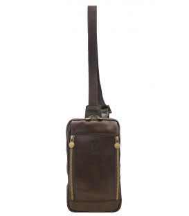 men's small leather crossbody bag