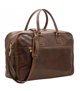 large leather duffle bag | full grain leather duffle bag