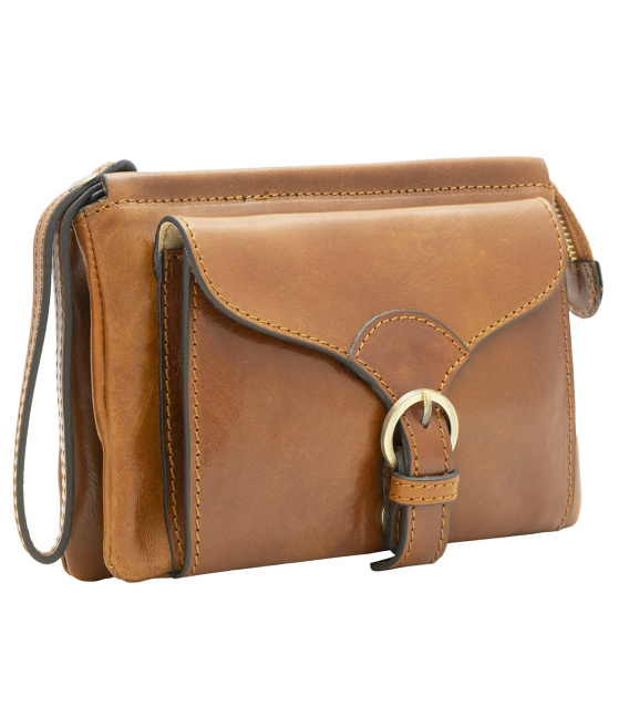 tan leather crossbody | ladies leather belt bag