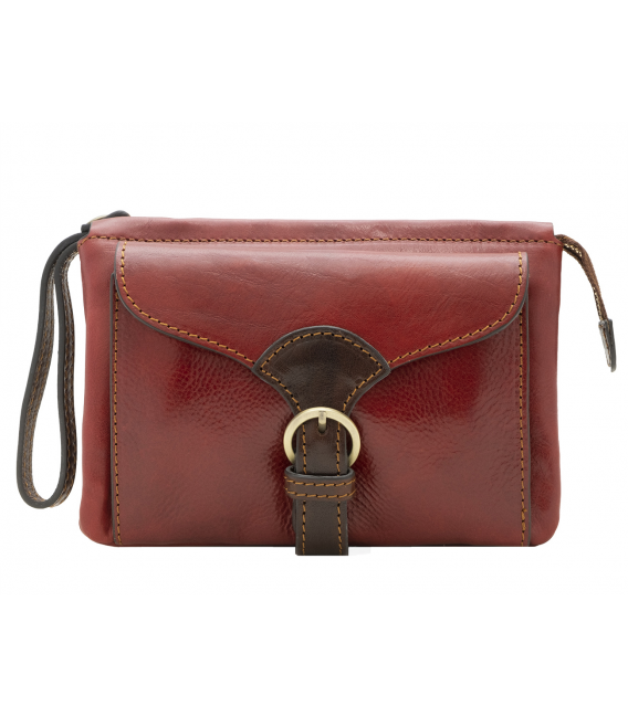 red leather cross body bag | leather belt bag for women