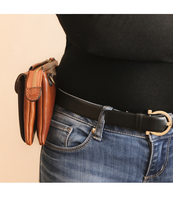 leather belt bag | womens leather belt bag
