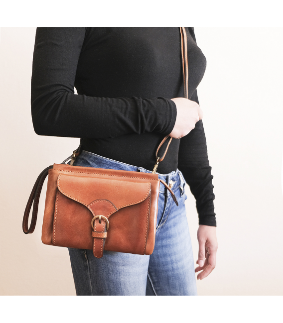 leather crossbody purse | leather belt bag womens