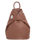 "Leather Backpack ""Carla"""