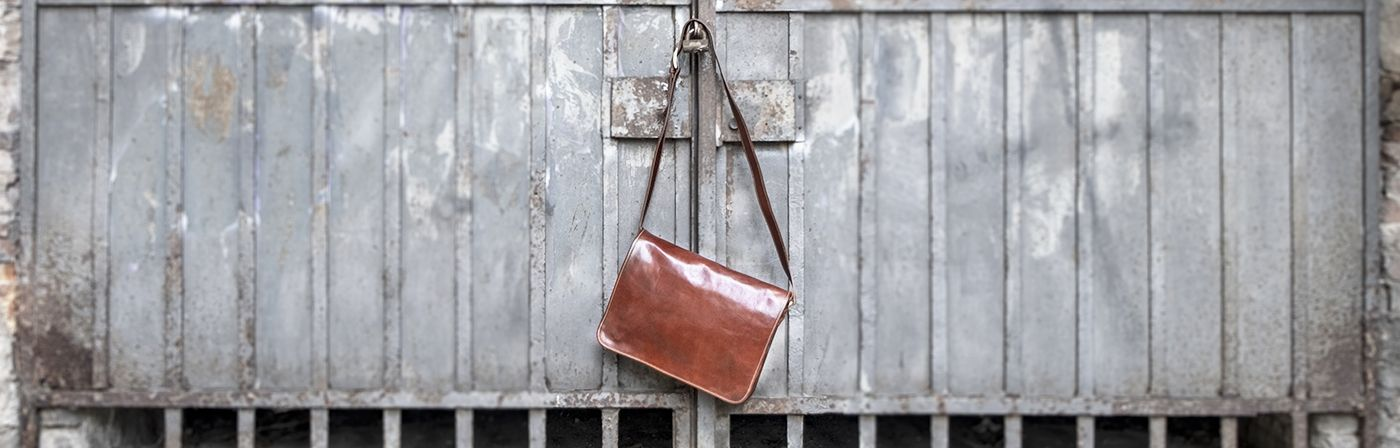 Leather messenger bag | leather side bag | leather crossbody messenger bag