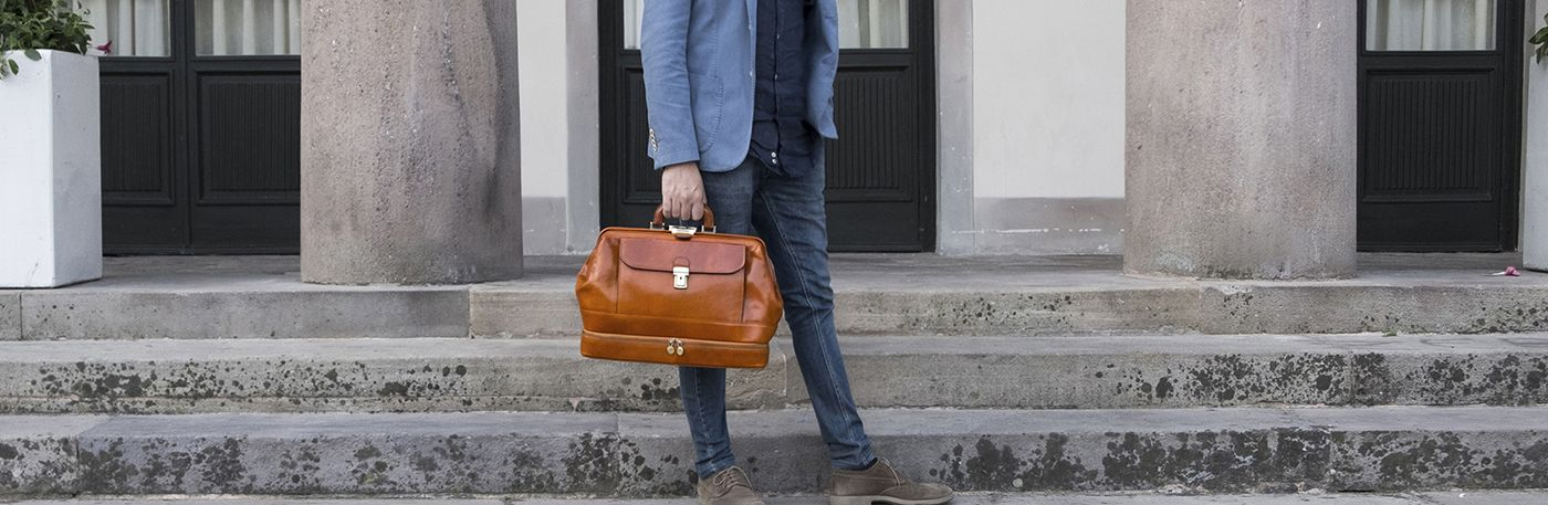 Leather Doctor's Bags & Italian Leather Medical Bag