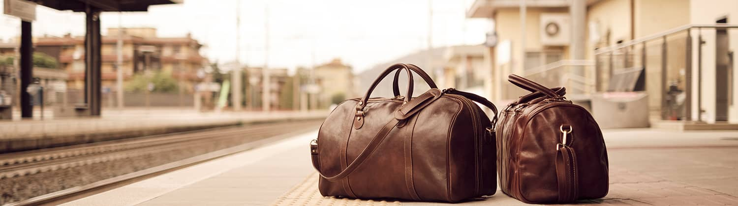 leather duffle bag | leather travel bag | leather luggage