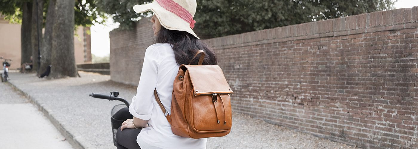 Women's Leather Backpacks & Women Leather Rucksack